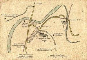 Craigellachie Village Map